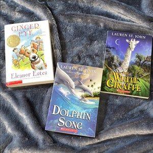 Scholastic Books Set of 3